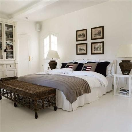 New England Style Master Bedroom