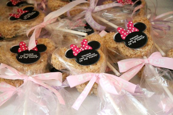Hey, I found this really awesome Etsy listing at http://www.etsy.com/listing/128422529/minnie-mouse-rice-krispie-treats-set-of