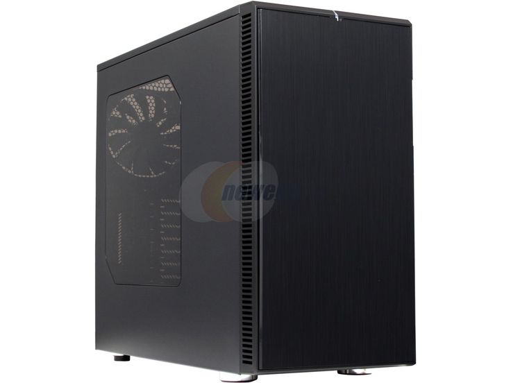 Fractal Design Define R4 Blackout with Window Silent ATX Mid Tower Computer Case - Newegg.com