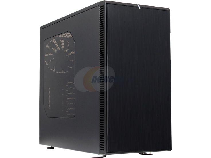 Fractal Design Define R4 Blackout with Window Silent ATX Mid Tower Computer Case - Newegg.com
