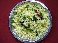 Mamidikaya Rava Pulihora  ( Green Mango Rava Pulihora )