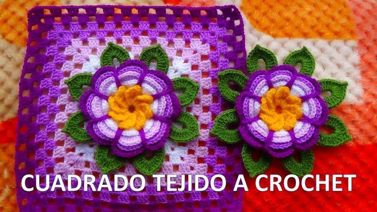 17 best images about colchas tejidas on pinterest granny - Colchas tejidas a crochet ...