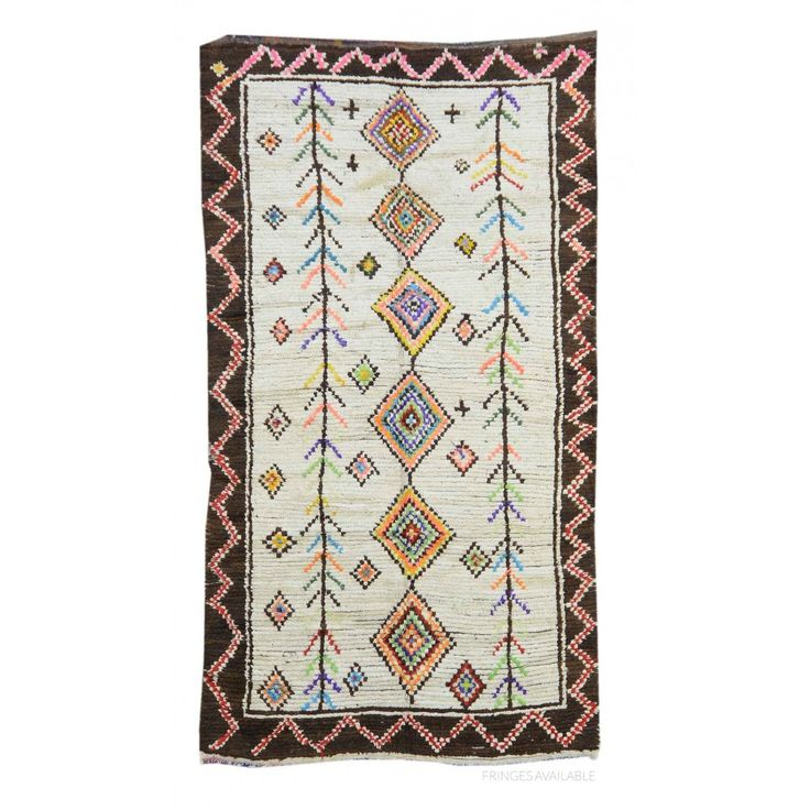 Vintage Moroccan Shag Rug X2920 on sale for $3000. Handmade Rugs, Vintage Rugs at Carpet Culture