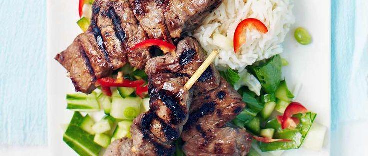 ... about Steak Skewers on Pinterest | Skewers, Teriyaki Steak and Steaks