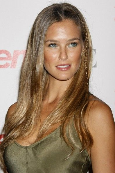 More Pics of Bar Refaeli Long Partially Braided (5 of 12) - Bar Refaeli Lookbook - StyleBistro