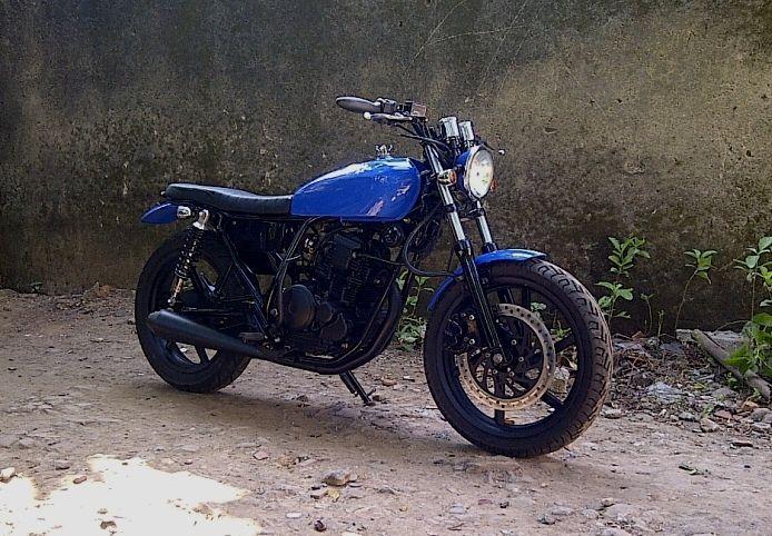 Yamaha Scorpio _ Scrambler _ Victorious Custom Works _ Depok City _ West Java