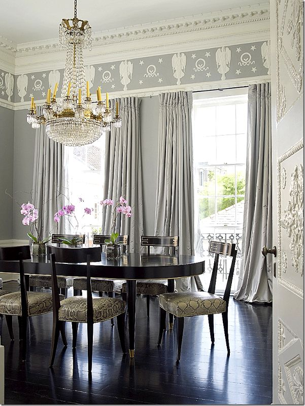 17 best images about beautiful interiors dining rooms on for Beautiful dining rooms