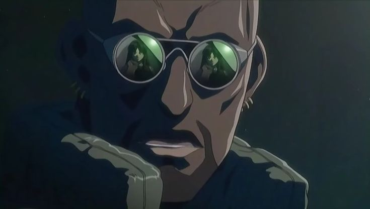 "Dutch, one of the lead characters from the anime series ""Black Lagoon"" a fantastic series."