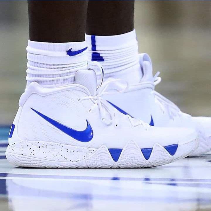 Zion Duke Kyrie 4 PE White | Basketball