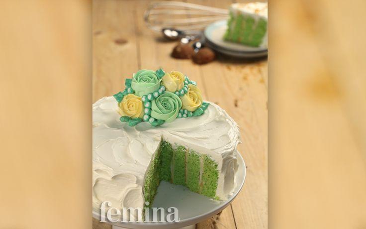 Palm Sugar Vertical Roll Cake: Tampilan Kue Gaya Baru