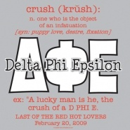 Delta Phi Epsilon Crush party