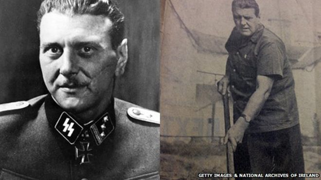 """Otto Skorzeny """"Rehabilitado"""" para los transportes de oficiales SS A América Latina bajo contrato con el Pentagono. Fundó la World AntiCommunist League, WACL con la CIA-OPERATIVA"""