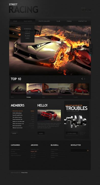 Adorable! What do you think? Yes or no?   Car Racing Website Template CLICK HERE! live demo  http://cattemplate.com/template/?go=2jTw4VW