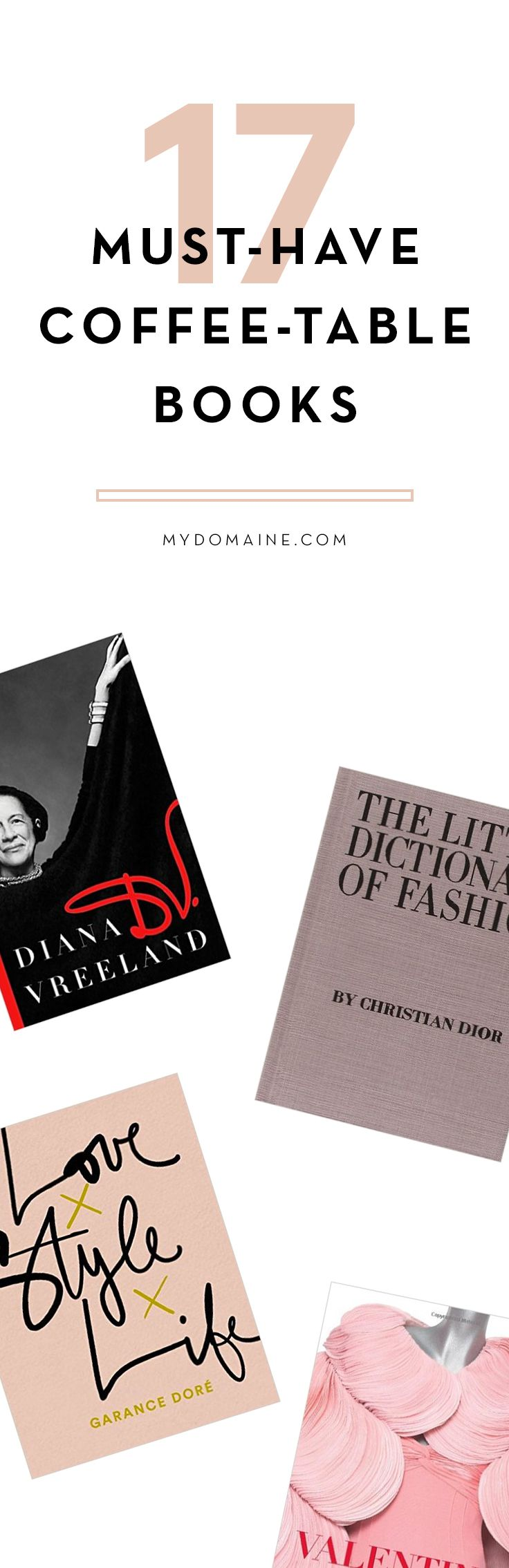 The books every fashion girl has in her home