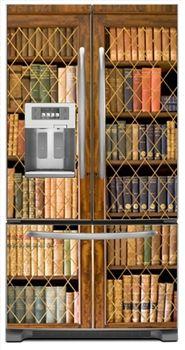 Bookcase Refrigerator Cover love it!!!!!