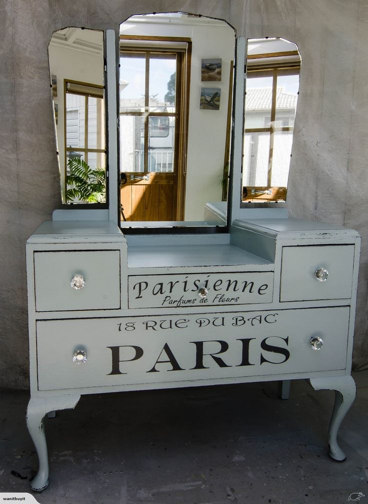 VINTAGE DRESSING TABLE - FRENCH CHIC | Trade Me