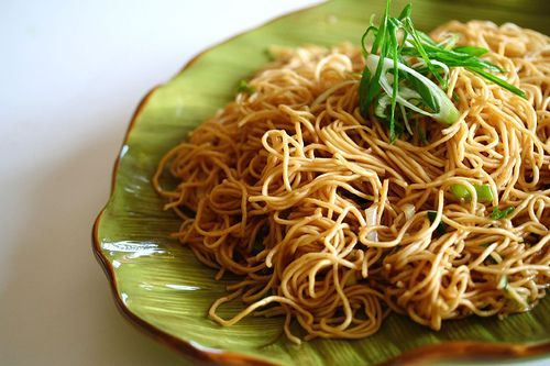 Garlic Scallion Noodles. One of my favs, all of Jaden Hair's recipes are delicious and easy :)