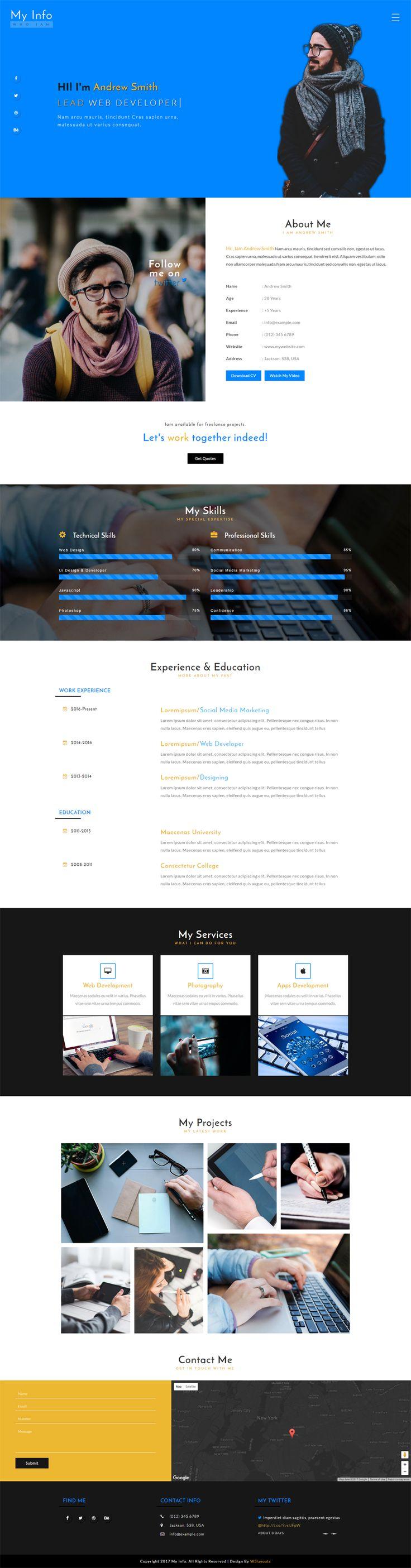 39 besten Free HTML5 Template, Website Templates , Admin Templates ...