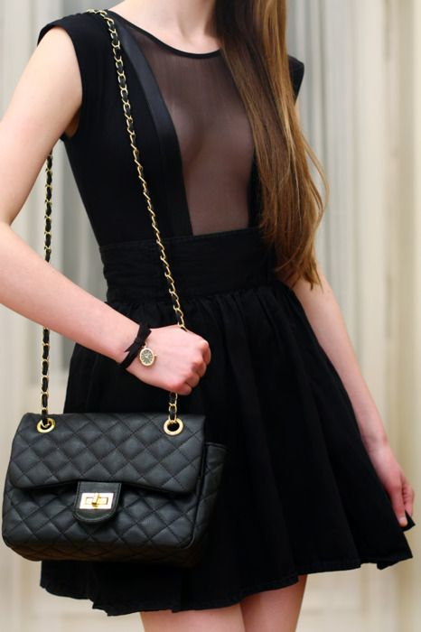 sheer panel: Outfits, Chanel Bags, Bodysuit, American Apparel, Style, Hot Dresses, Little Black Dresses, The Dresses, Mesh