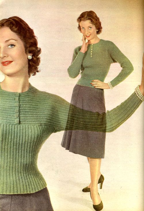 Scanned from Housewife magazine March 1952 Click for big