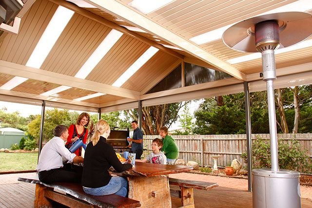 17 best images about patios pergolas decks on pinterest for Outdoor entertainment area on a budget