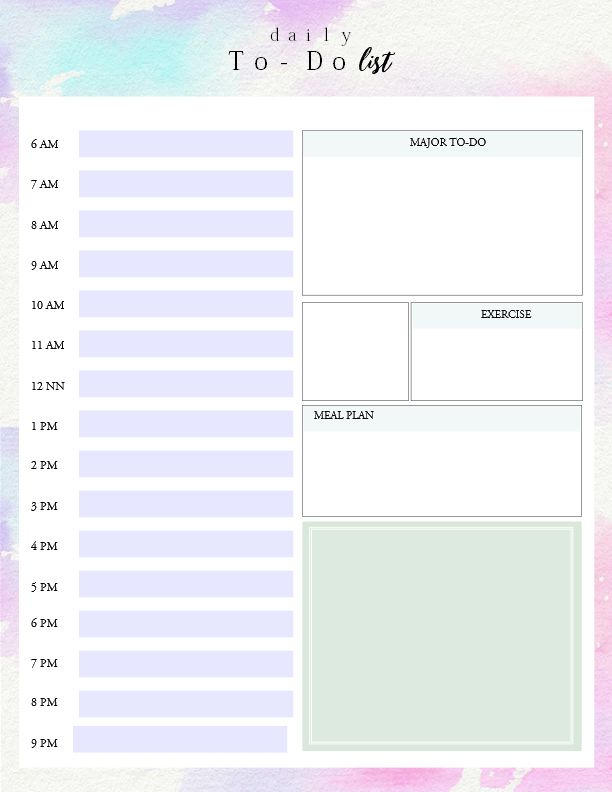 I can't even begin to tell you about how passionate I am with adaily to do list template. I must admit, I can hardly run my day smoothly without my to do list. But with a run down of things …
