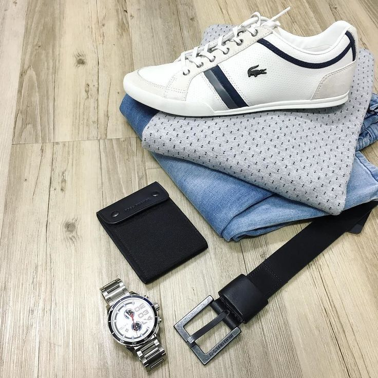 All in the details // NEW Politix jeans Brooksfield knit (on sale) Lacoste trainers Diesel watch Hugo Boss wallet and G-Star belt.  #mensfashion #trampsthestore #wollongong #PolitixMenswear #BrooksfieldAustralia #Lacosteshoes #weekend #dateday #mensfashion #ootd #jeans #dapper #gent #flatlay #autumnWinter #tailoredfashion #menWithStyle