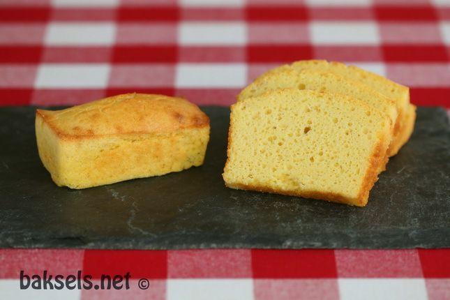 Glutenvrij maïsbrood