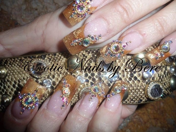 Nail art by Exotic Nails - 8 Best Exotic Nails Images On Pinterest Exotic Nails, Fancy And