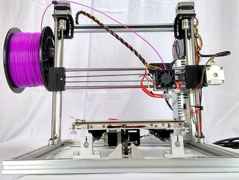 Folger Tech RepRap 2020 Prusa i3 Full Aluminum 3D Printer