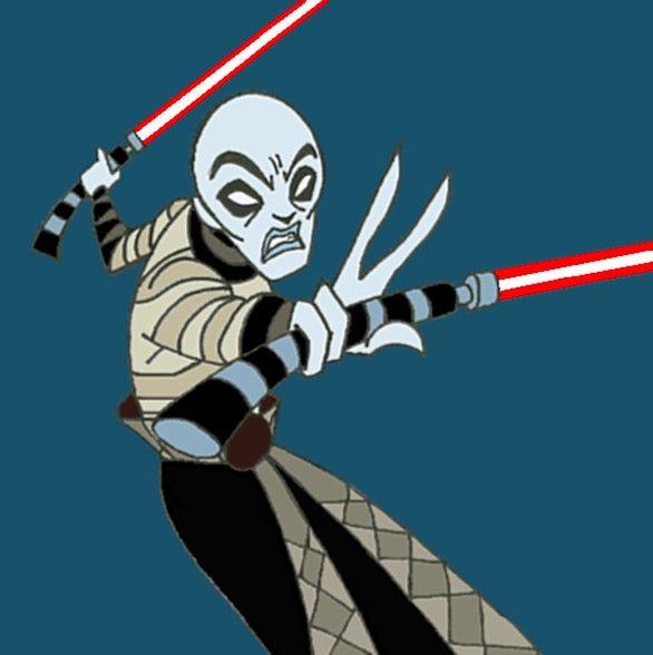 Sith Apprentice Asaaj Ventress