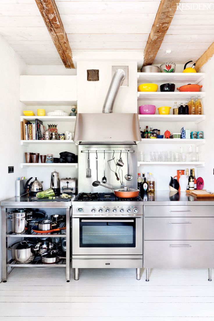 17 best Kitchen Shelves images on Pinterest   Kitchen racks, Kitchen Creative Kitchen Shelving Ideas on creative kitchen countertop ideas, creative kitchen backsplashes ideas, creative kitchen sink ideas,