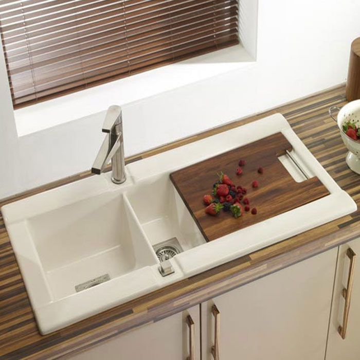 GEO 150 CERAMIC Inset Kitchen SINK   1070Lx515Wx230H From The Sink  Warehouse!