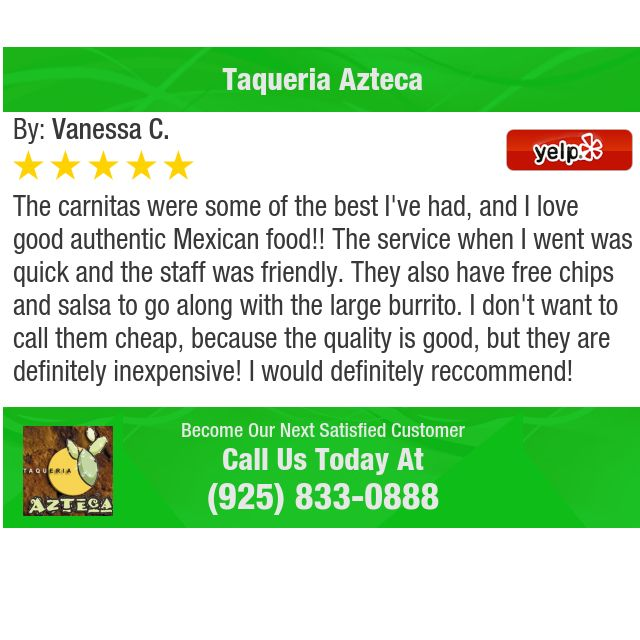 The carnitas were some of the best I've had, and I love good authentic Mexican food!!...