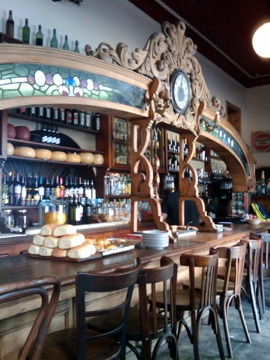 Las Violetas Cafe in Almagro - Buenos Aires, Argentina. History, Culture and Tradition; in keeping with my story http://www.amazon.com/With-Love-The-Argentina-Family/dp/1478205458