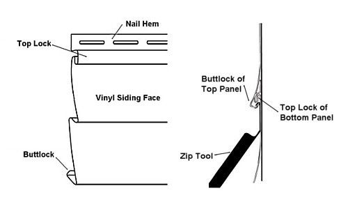 How to Use a Zip Tool - Vinyl Siding Removal Tool