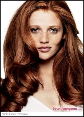 Auburn Hair Color | Fashion Tips and Medium Hairstyles ...