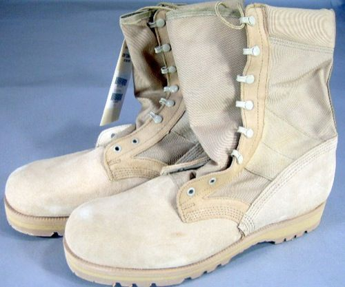 Wellco Desert Tan Hot Weather Army Combat Boot   13XW