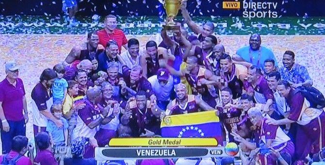 Venezuela se titula Campeón en Suramericano de Baloncesto 2014
