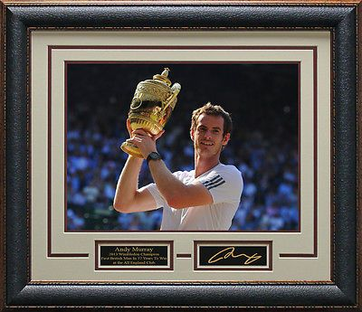 Tennis 430: Andy Murray Wins Wimbledon Framed Photo -> BUY IT NOW ONLY: $187.95 on eBay!