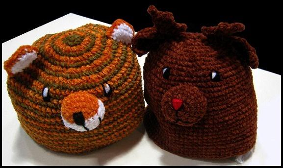 Gli animaletti! http://www.lagravidanza.net/cappelli-e-cappellini-piccoli-stravaganti-e-divertenti.html/bimbo13