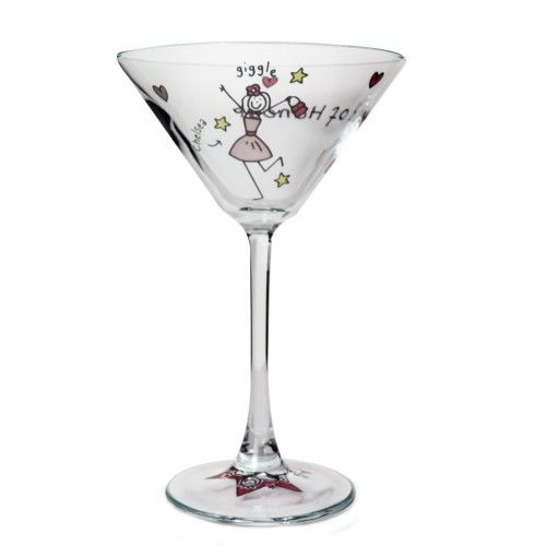 Wonderful Purple Ronnie Wedding Maid Of Honour Cocktail Glass   Cocktail Glasses    Exclusively Personal Awesome Design
