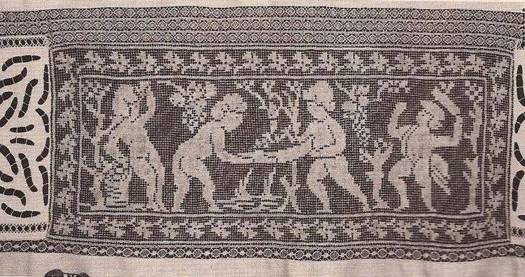 #15 Panel Decorativo La Vendimia a Crochet ~ Patrones de Crochet
