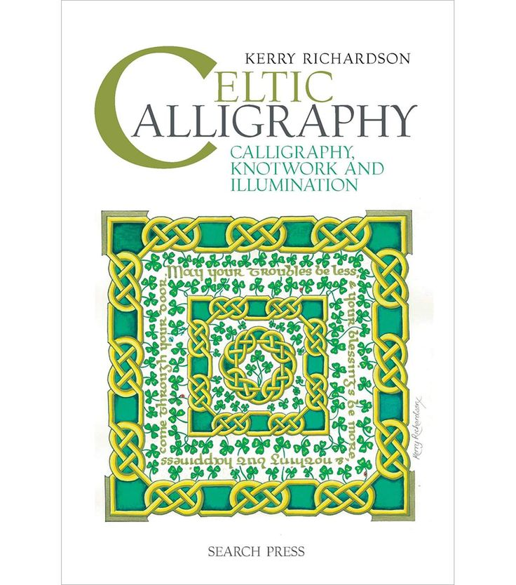 Search Press Books-Celtic Calligraphy. Learn how to write the beautiful calligraphy that we associate with Celtic culture and develop scripts that are based on original medieval manuscripts. Starting
