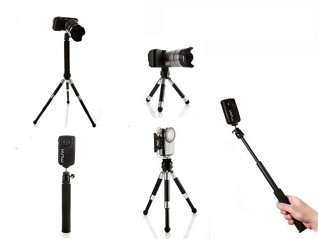 Duopod passar alla kameror med en vanlig stativgänga