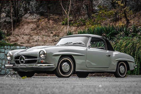 Mercedes Benz #190SL. Via: iran_classiccars (instagram) / #BruceAdams190SL #190SLRestorations #300SLRestorations