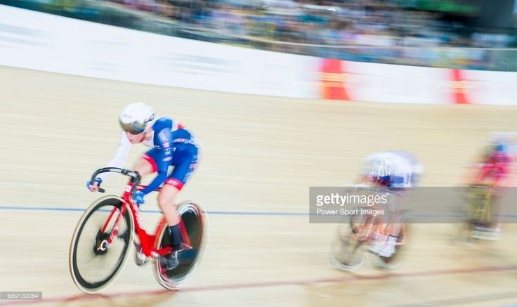 #TWC2017 Elinor Barker of Great Britain competes in the Women's Points Race 25 km Final during 2017 UCI World Cycling on April 16, 2017 in Hong Kong, Hong Kong.