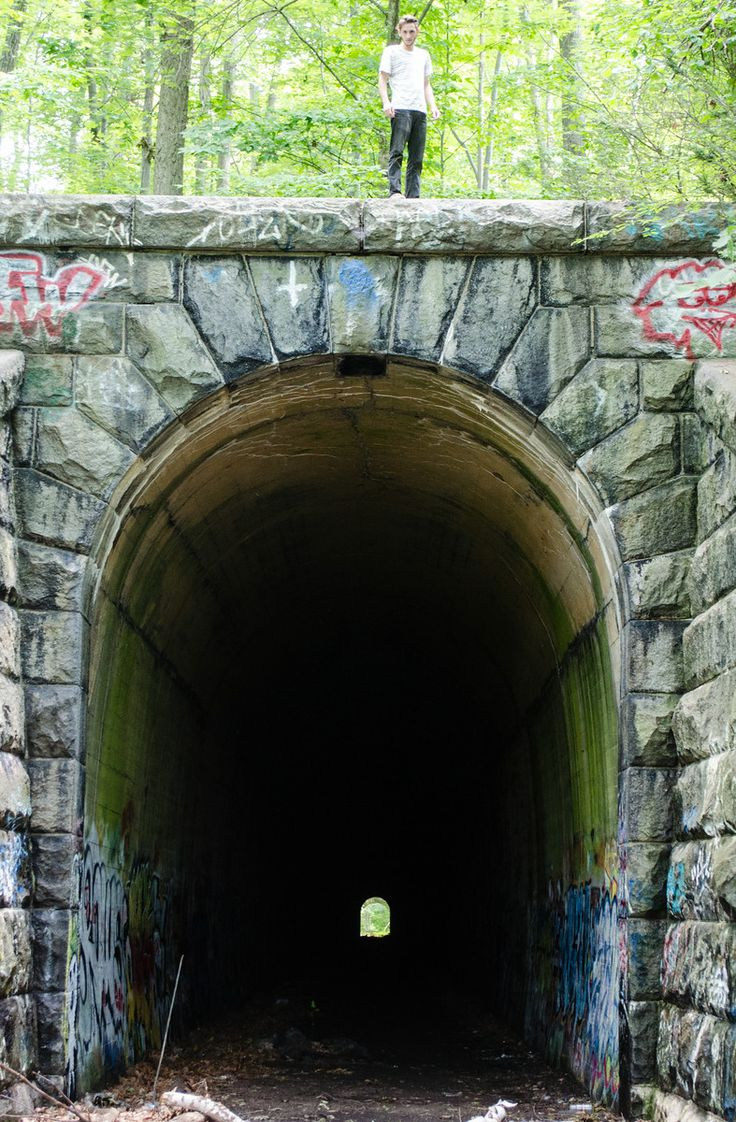 Secret Central Massachusetts Abandoned Train Tunnel (Clinton Massachusetts)