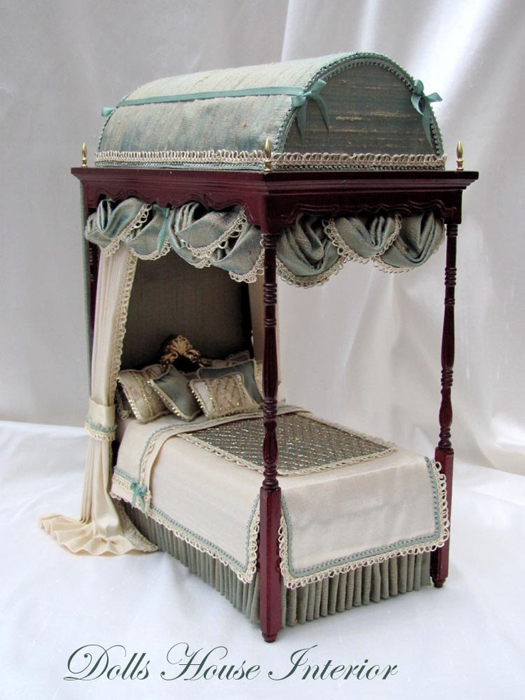 FRENCH DOMED TOP Four Poster Bed by Carol Clarke by carolclarke1. $350.00, via Etsy.
