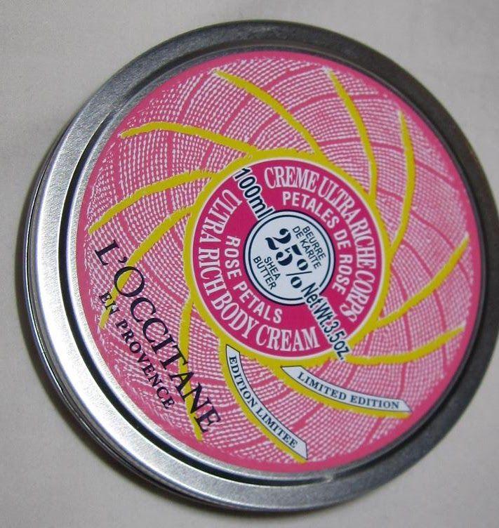 L'Occitane Shea Butter Rose Petals Ultra Rich Body Cream